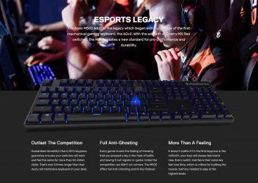 SteelSeries Apex M500 Cherry MX Blue Mechanical Gaming Keyboard คีย์บอร์ดแมคานิคอลตัวล่าสุด